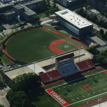 Ithaca Aerial Photography Cornell University Football