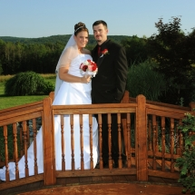 Ithaca Wedding Couple