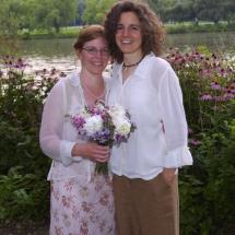 Ithaca Wedding Candid-Farmer's Market