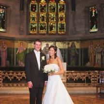 Ithaca Wedding Candid Sage Chapel Cornell