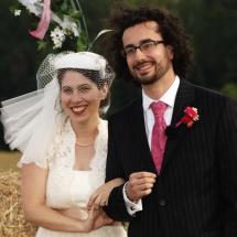 Ithaca Wedding Couple