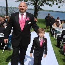 Finger Lakes Wedding Belhurst Castle Geneva, NY