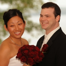 Aurora Inn Wedding Couple