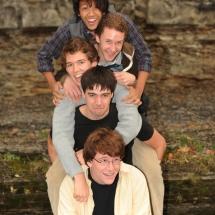 Senior gang-Senior Portrait Ithaca Falls